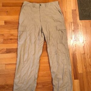 Ralph Lauren Khaki Cargo pocket pants 36/32